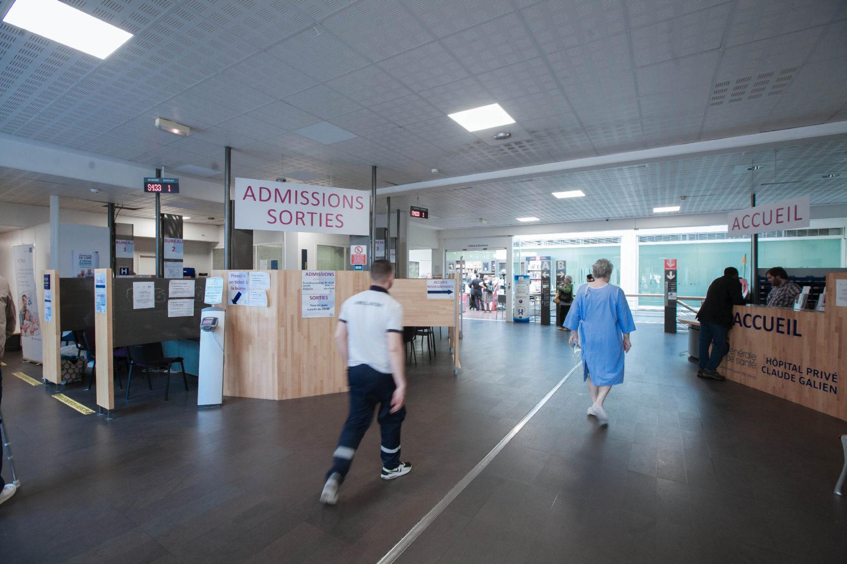 Accueil Hôpital Galienn, Quincy sous Sénart