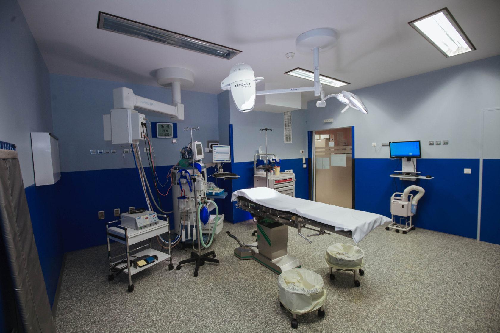Bloc opératoire Hôpital Galienn, Quincy sous Sénart